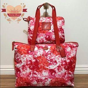 🌺Coach Signature Bag & Snap Pouch🌺